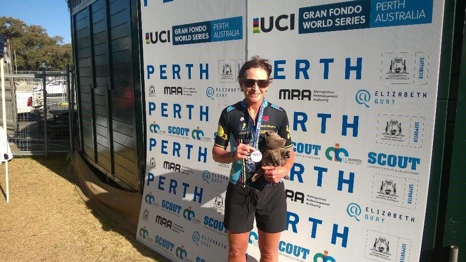 UWCT - Sue Tierney took 3rd in the ITT