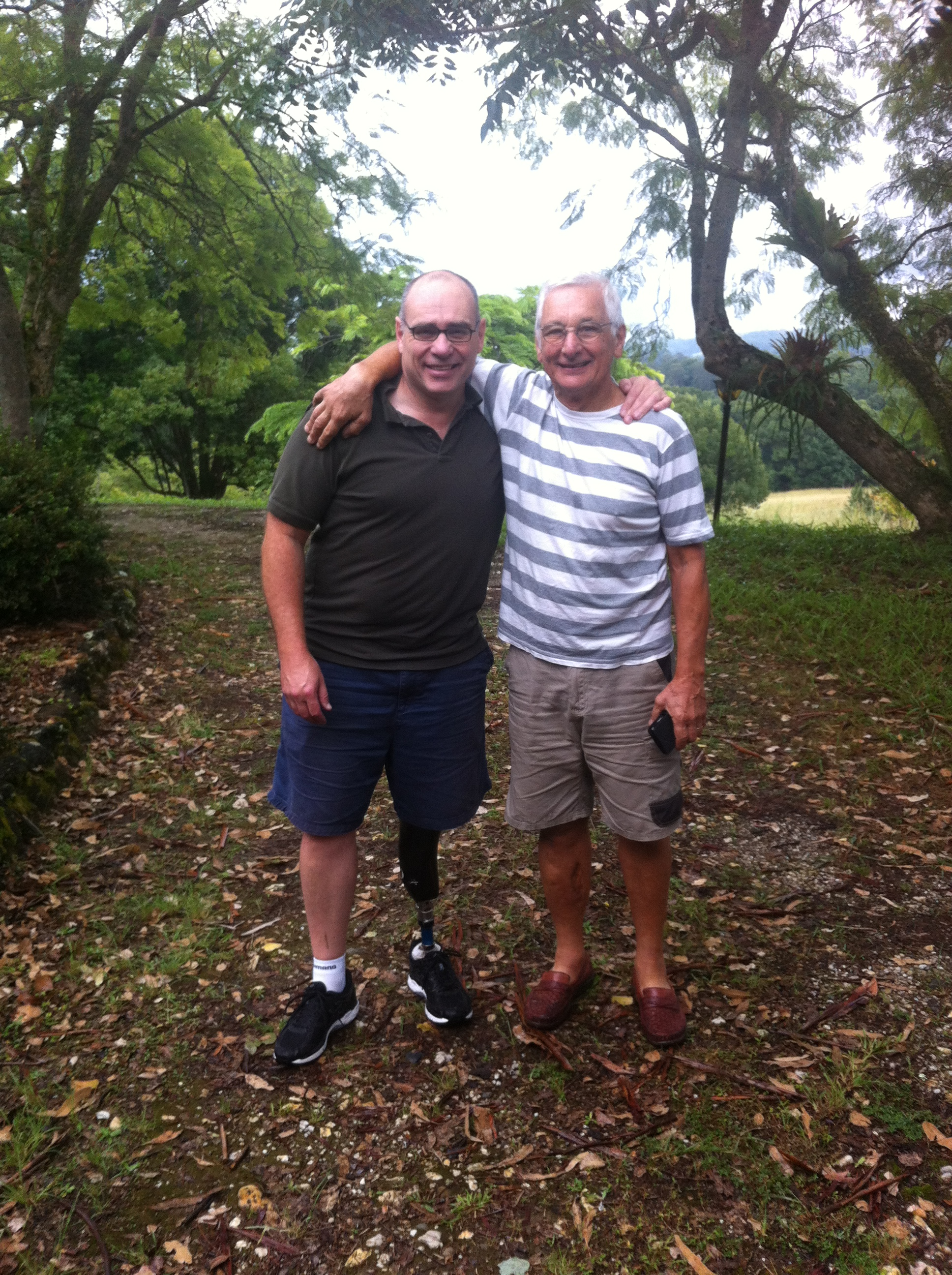 Alex & John Crouchley at the new Bellingen residence
