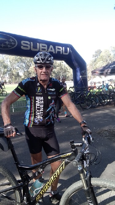 Ian Grainger at the Bendigo Golden Triangle MTB