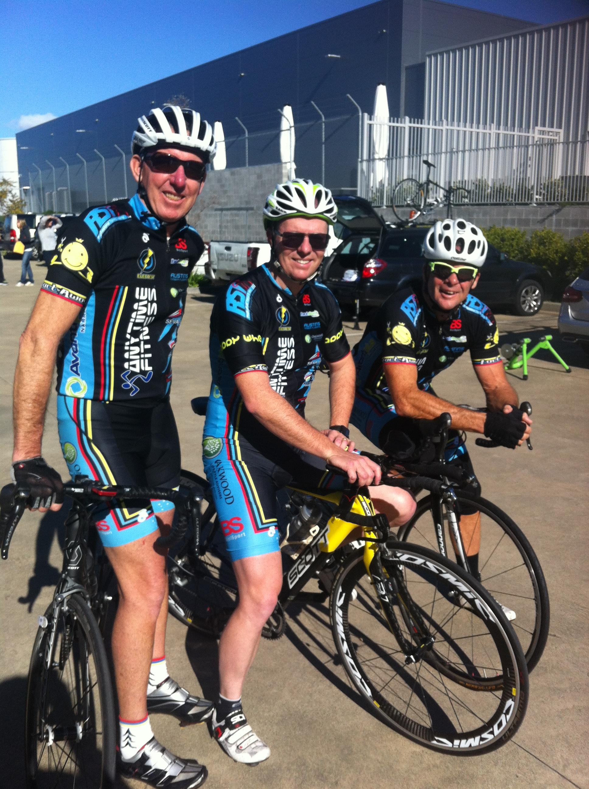 Brad Mills, David Browne, Marty Wright