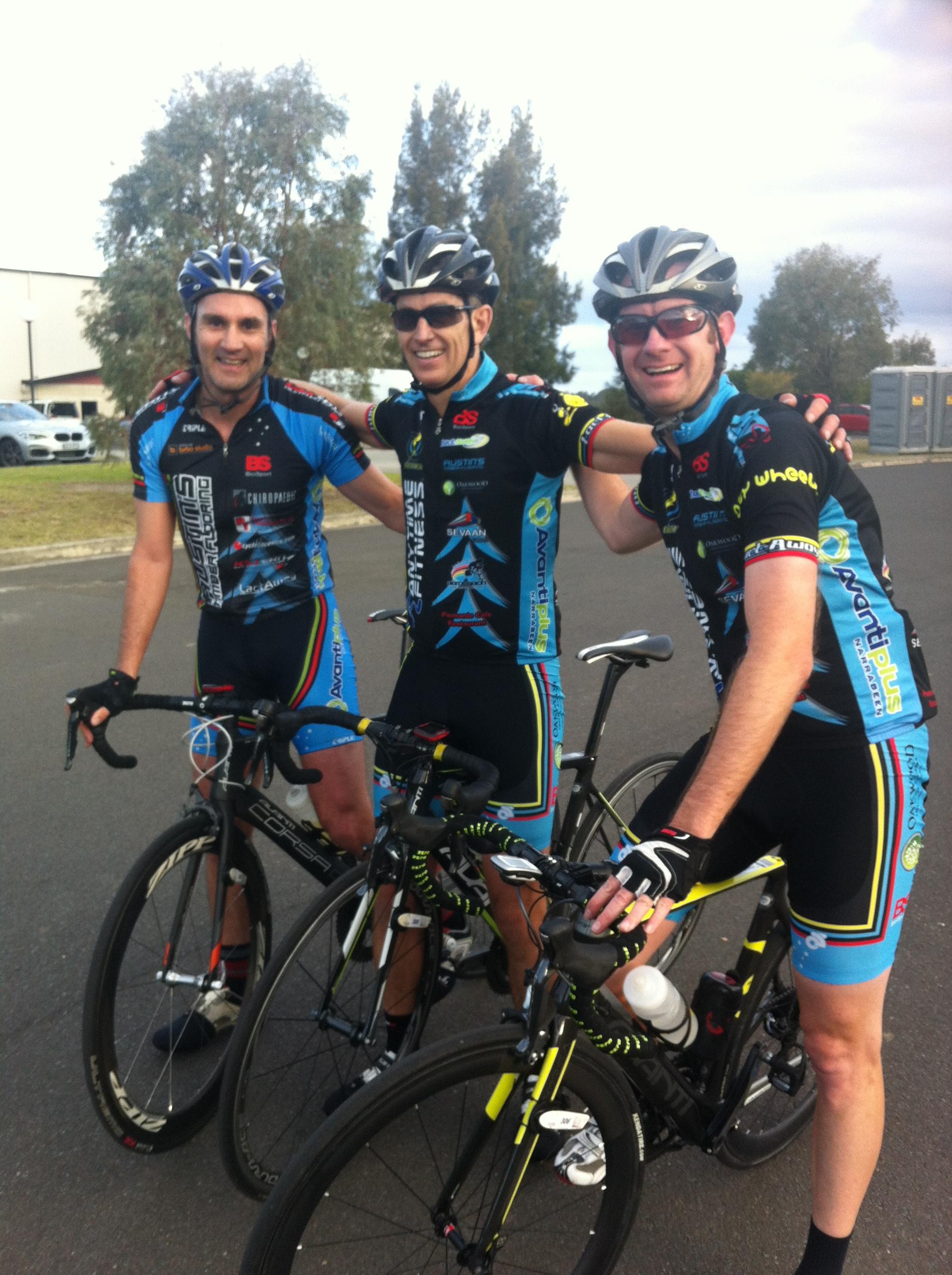 Colin Edmonds, Mark Walsh, Paul Curgenven