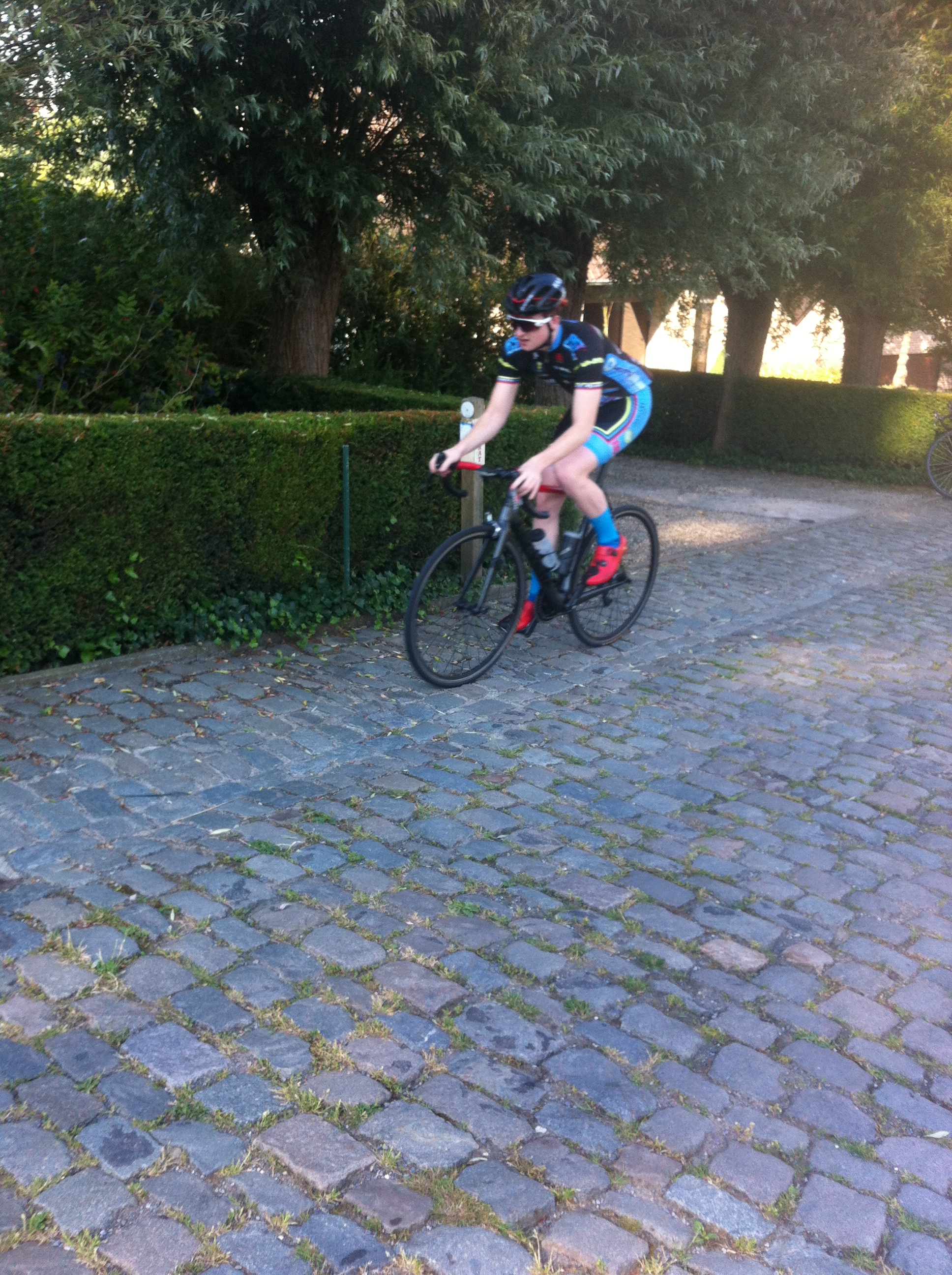 Koppenberg and the only way is up ...