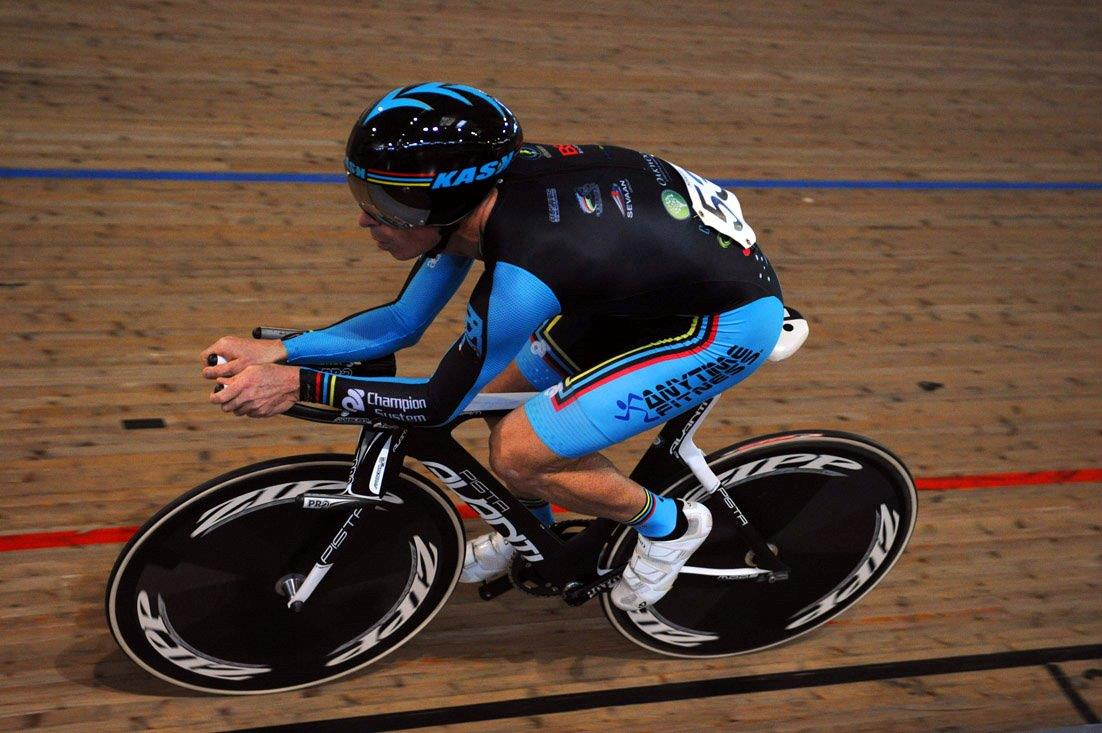 Jayson Austin set a World Hour Record of 48.411k in February 2013