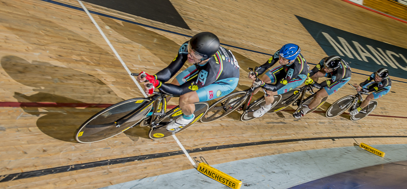 World Masters Track Championships 2015 - the team of Andrew Patten, Geoff Baxter, Matt Glanville & Jayson Austin took the Silver medal in the Masters Teams Pursuit