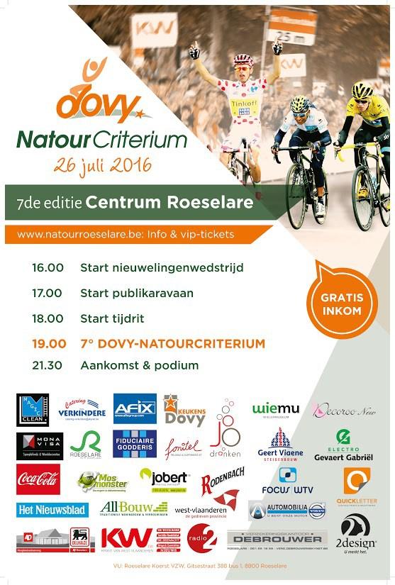 Post Tour de France Criteriums are in Flanders over the next week in Aalst, Roeselare, Lommel, St Niklaas & Antwerp