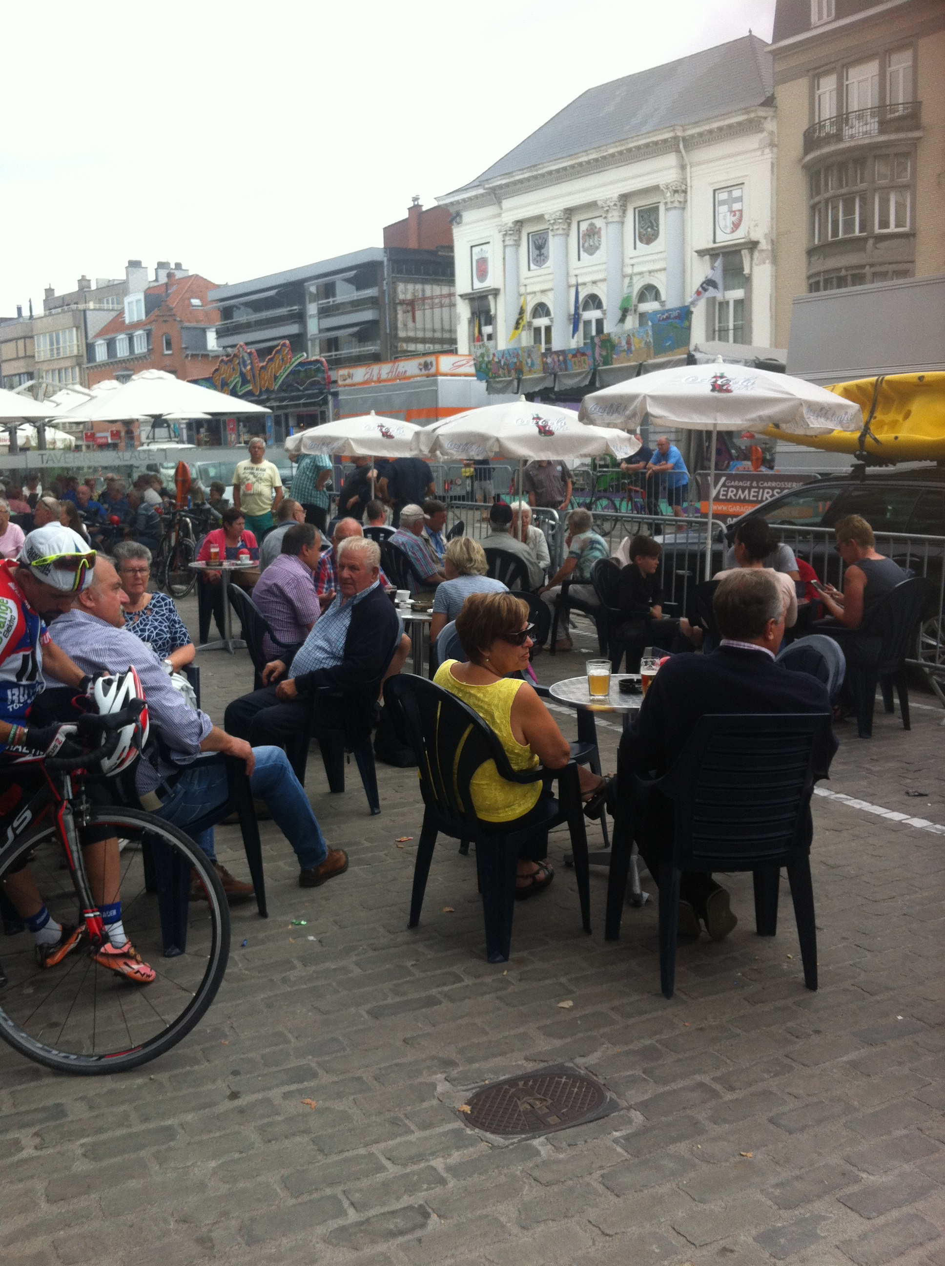 Deinze Kermis is about beer, some more beer and some tough Belgian kermis racing