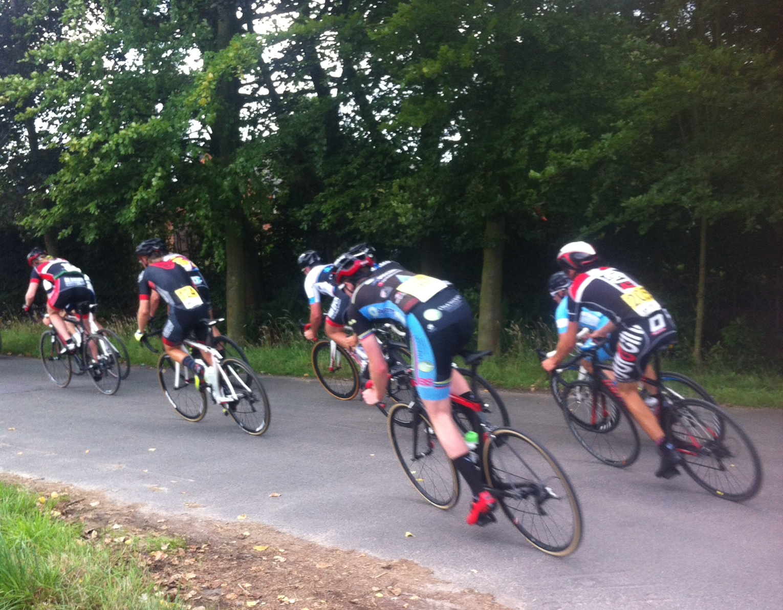 Conor Verhulst on lap 5 at the Kalken Kermis