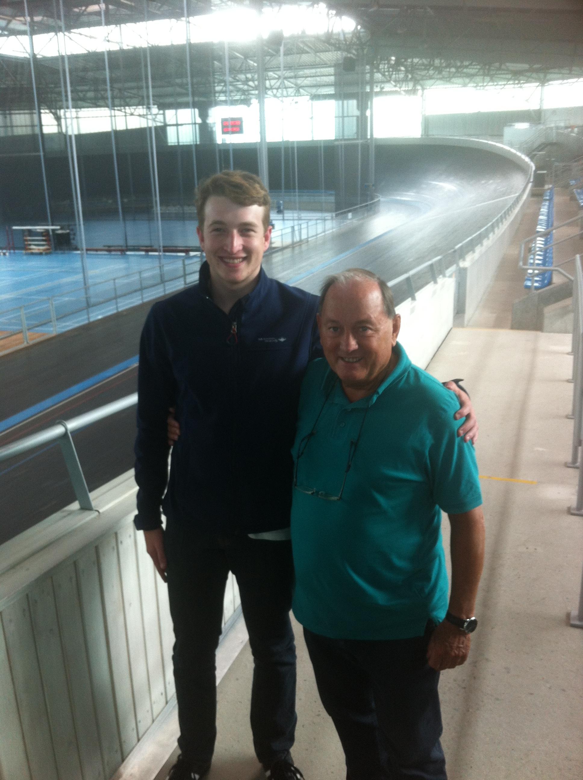 Inside the Eddy Merckx Velodrome in Ghent