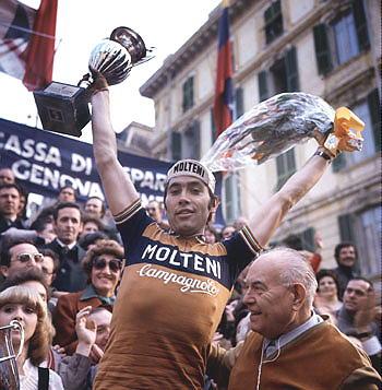 Eddy Merckx takes another Milan San Remo Classic