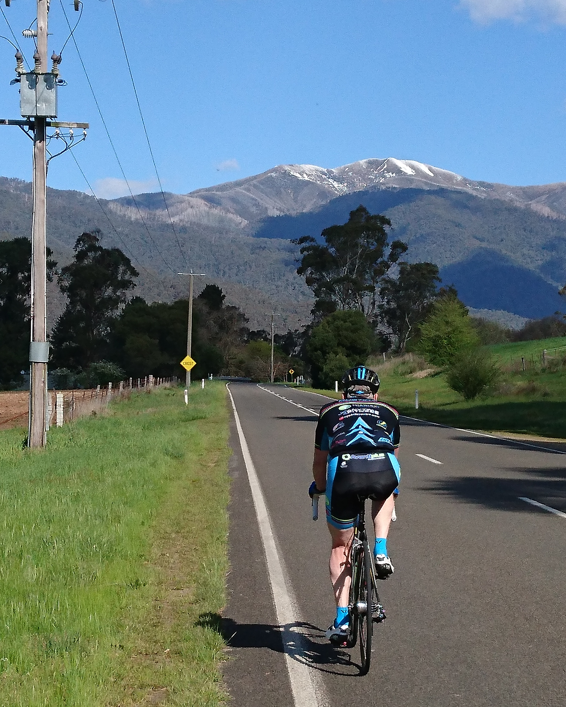 Graham Tierney heads for Mount Hotham