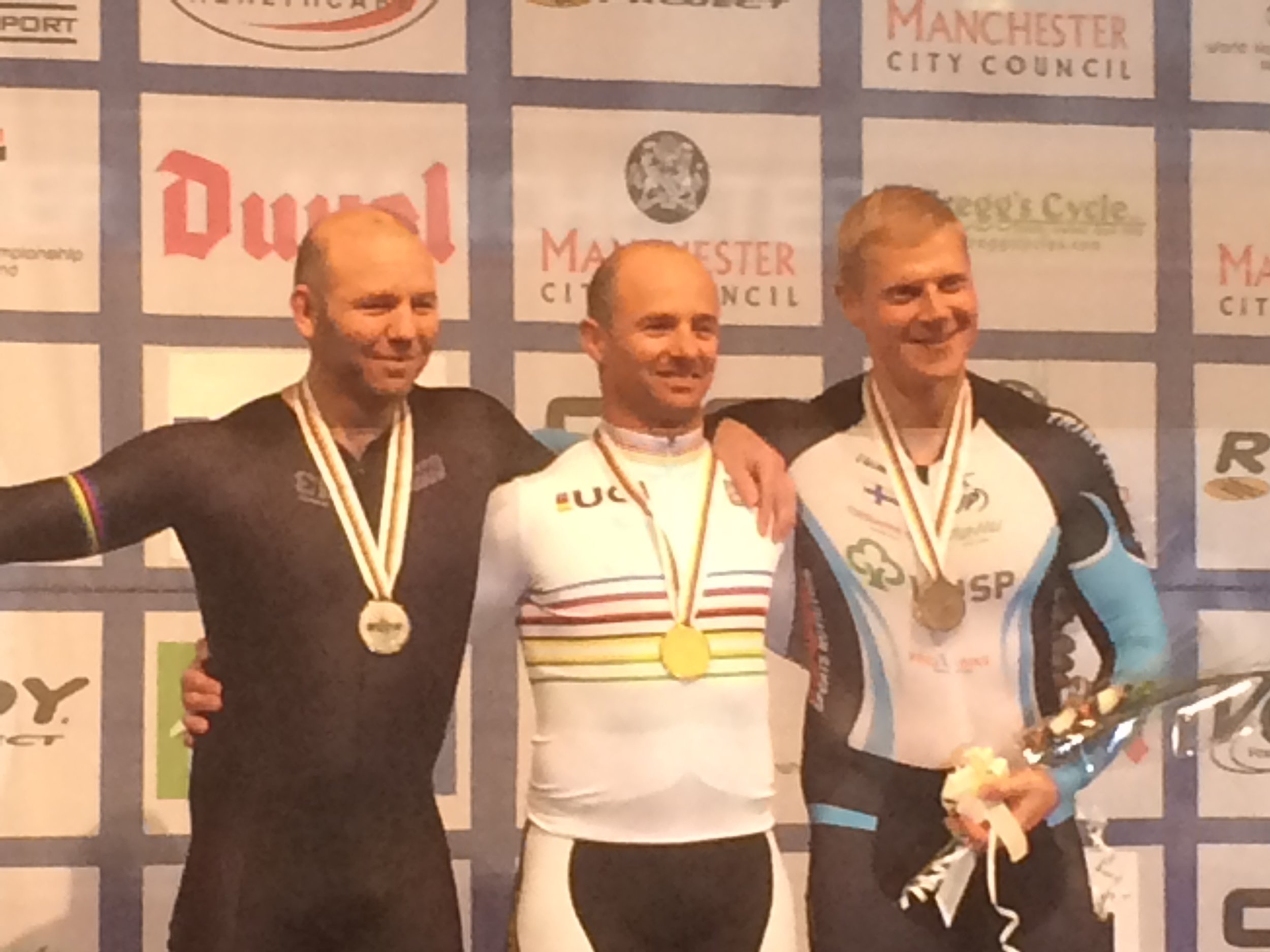 Manchester Masters World Track Championships October 16 - Mike Smith World Champion