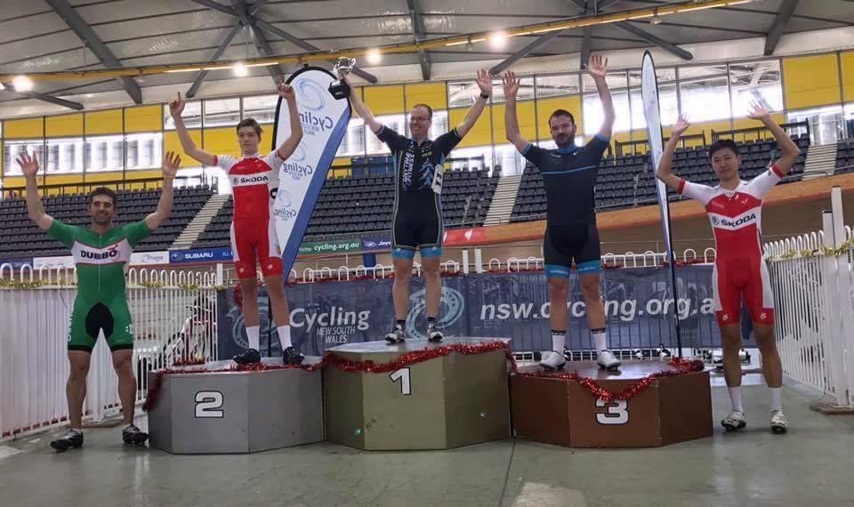 David Browne takes the Scody Sydney Cup podium