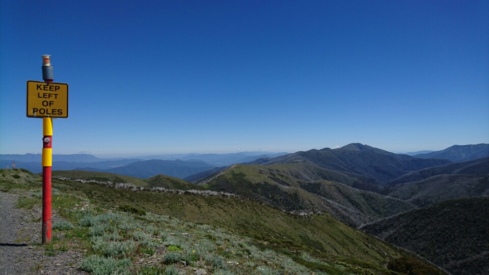 A stunning picture taken by Sue Tierney from the top of Mount Hotham (Vic) on December 30.