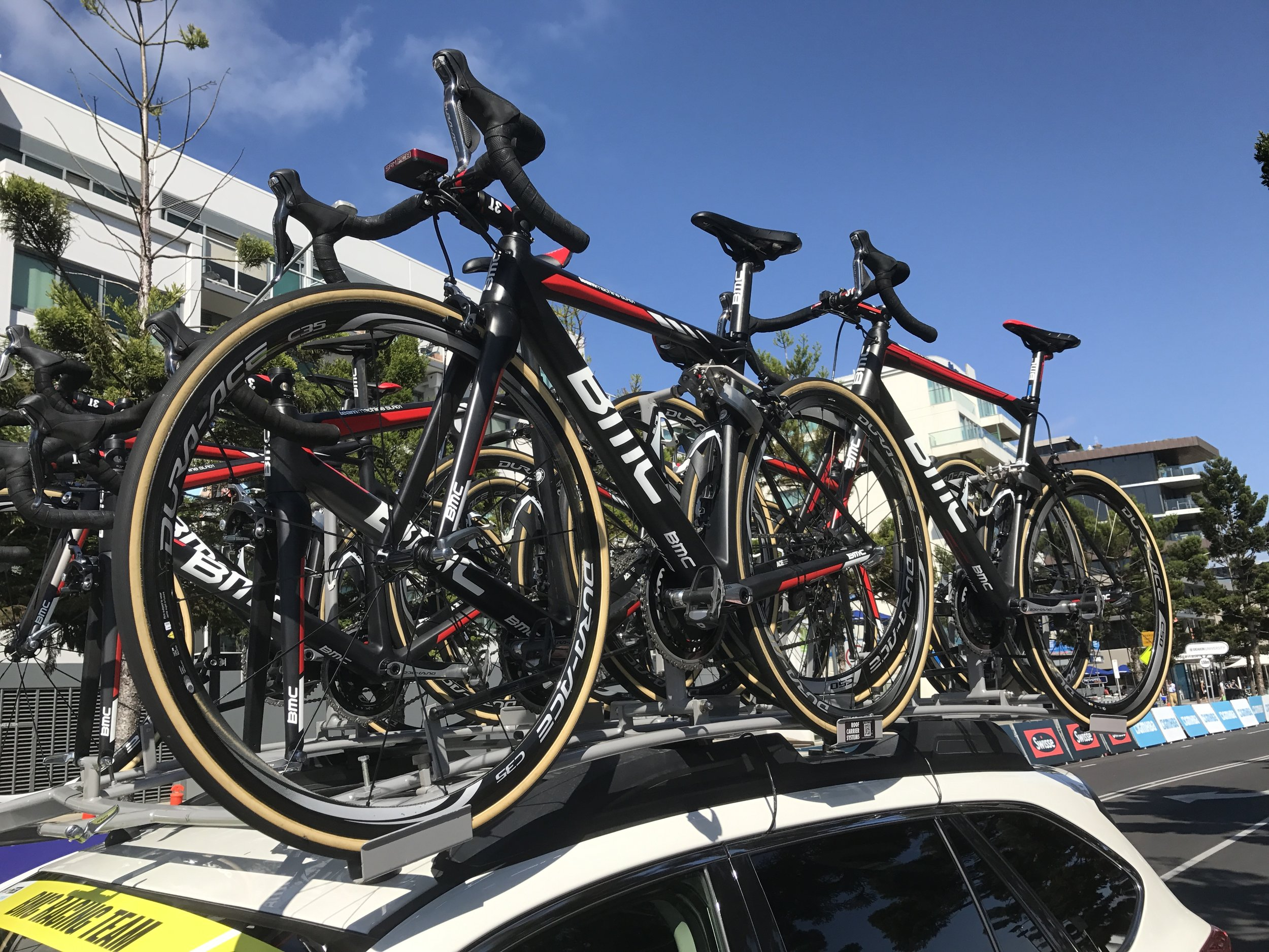 Cadel Evans 2017 - BMC Team Car