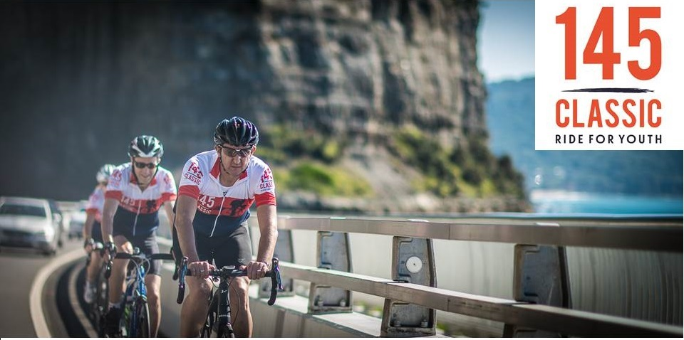 The 145 Classic is to be held on Sunday 23 April from Centennial Park to Kiama starting at 6.30am. BiciSport is providing transport & Ride Leader support with the charity ride.