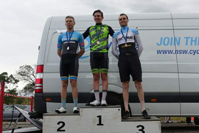 NSW Under 23 State Road Championships 17 - Peter Livingstone (BiciSport Mobius) took the Bronze