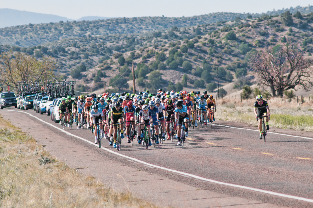 Tour of the Gila 17 in New Mexico (USA)