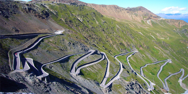 Brad Mills and David Cooper can look forward to the Stelvio on 10 June
