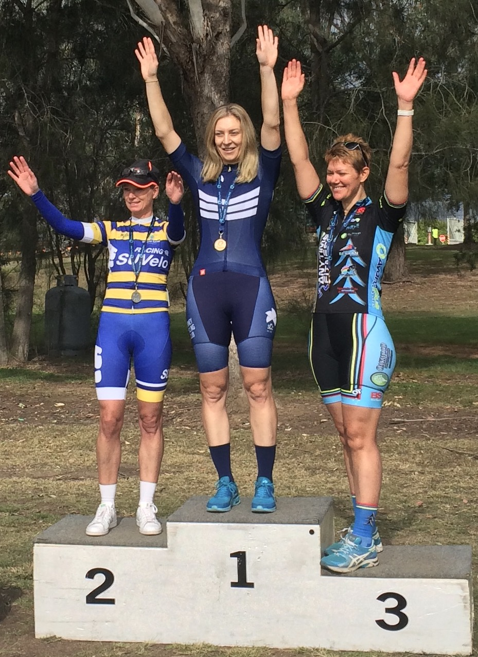 Sydney Road Championships 17 - Ruth Strapp was 3rd in Womens B grade