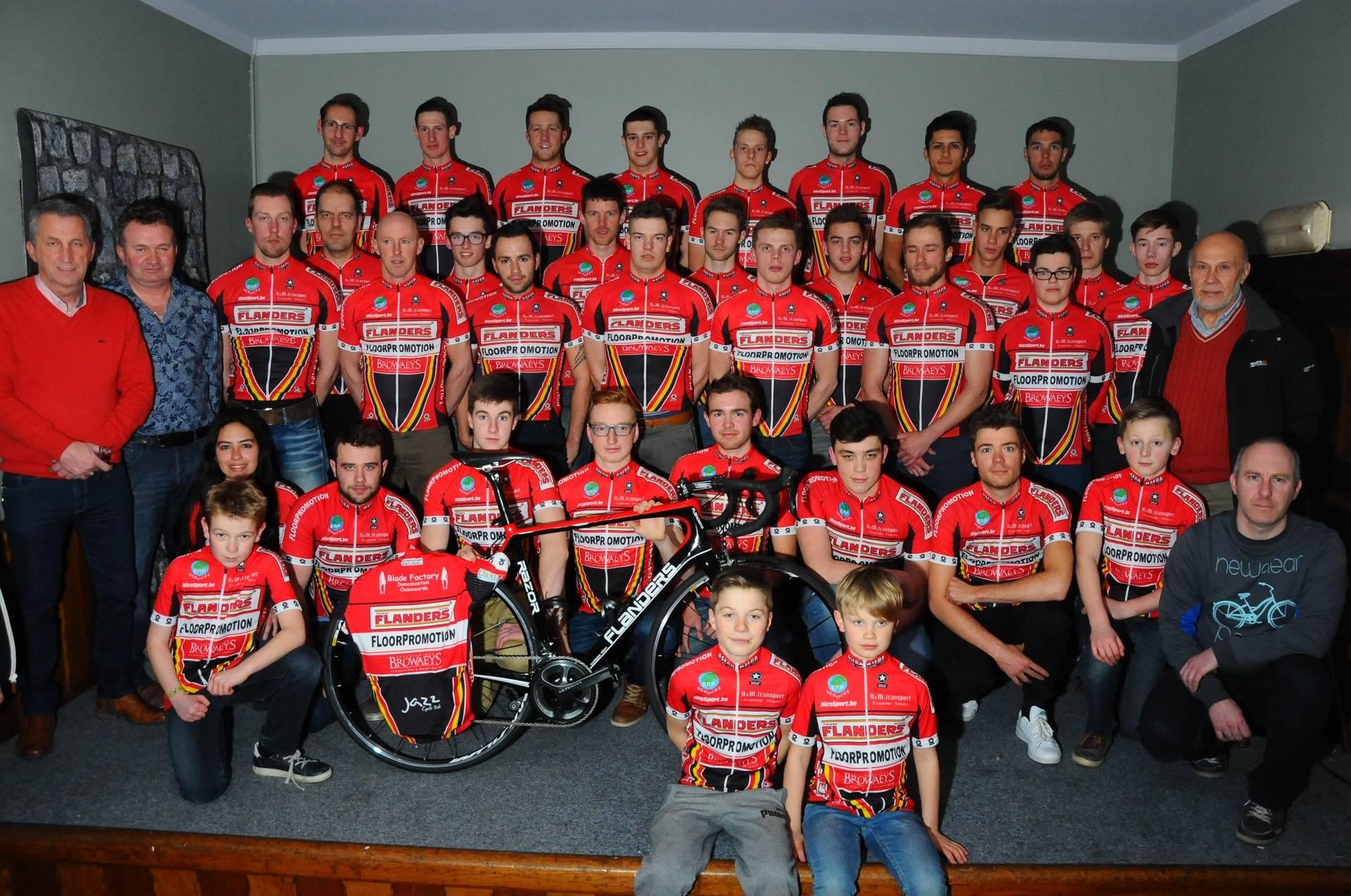 ASFRA Racing Team is based out of Flanders Cycles in Oudenaarde