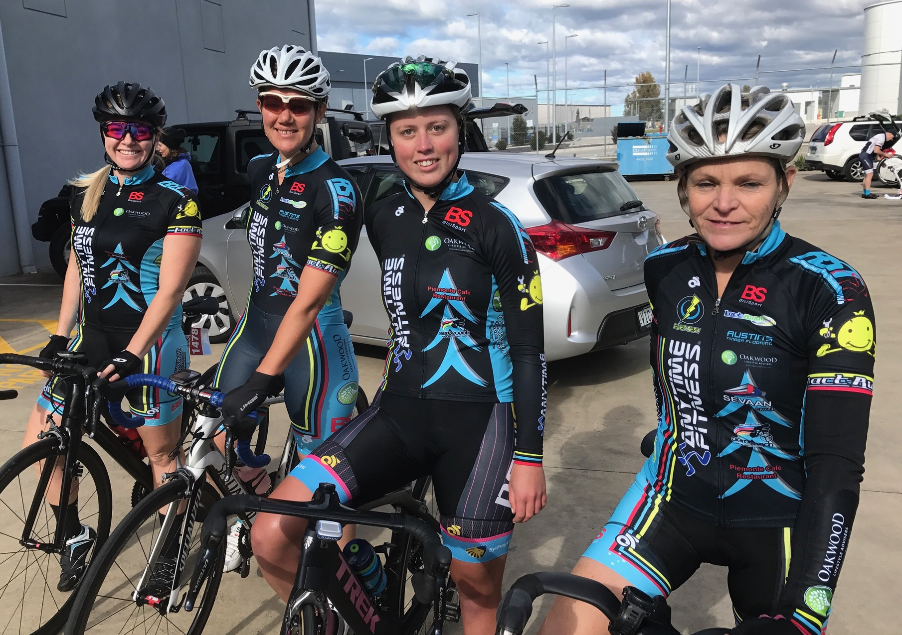 Nowra 17 - Sassafras Challenge Womens Team of Amber Walsh, Ruth Strapp, Angela Smith & Su Preeto finished an excellent third