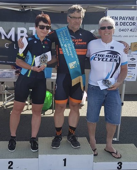 Tour of Aldonga 17 - Sue Tierney finished 2nd in D Grade
