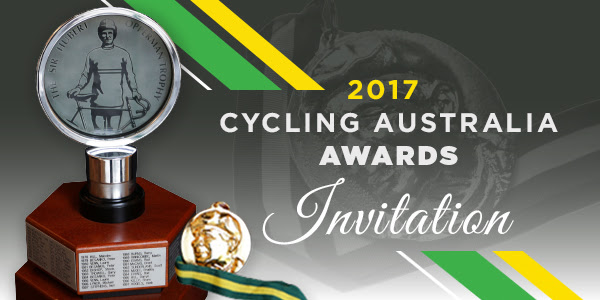 Cycling   Australia Awards 17 Presentation Lunch - Julie Speight is inducted into the CA Cycling Hall of Fame and John Crouchley (BiciSport Coach) is a special guest being the coach of Julie Speight