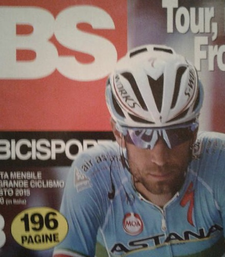 BiciSport 18 - Frank Signor recently joined BiciSport for the 2018 season & kindly sent in a cover of the famous Italian BiciSport magazine. The BiciSport name & logo was taken from the popular Italian magazine in 1995 when the club was established.