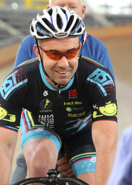 NSW Sprint Grand Prix # 3 @ DGV - Damien Bottero (BiciSport Master) features in the Sprint Grand Prix at DGV this coming weekend together with Lise Benjamin & Mike Smith.