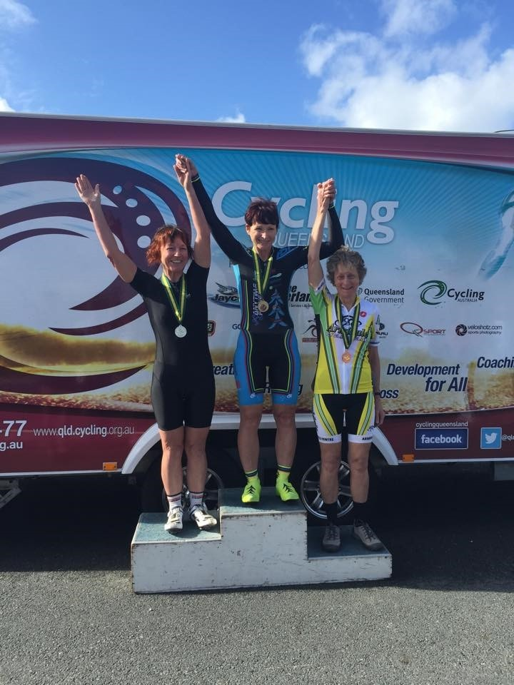 National Masters Road Championships September 15 - Sue Tierney took the Gold