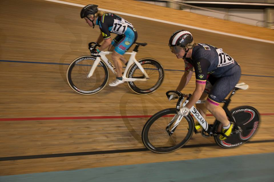 National Masters Track Championships @ DGV in March 16 - Kirstie Dolton took Gold (Time Trial) & Silver in the Sprint