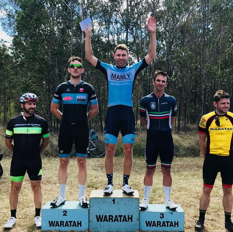 Waratah Masters @ 14 January - Jeremy Hopson (BiciSport Pilu Racing) finished 2nd in A grade