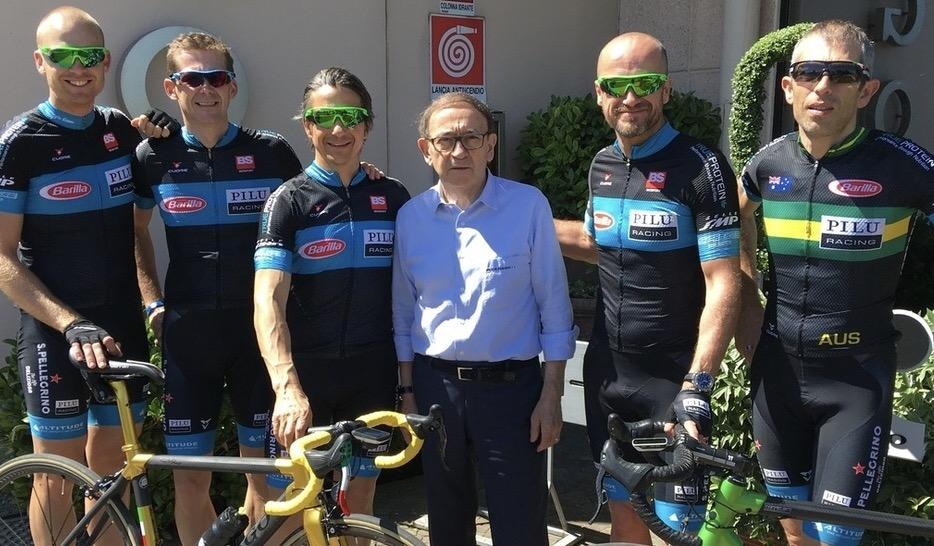 BiciSport Pilu Racing with Ernesto Colnago