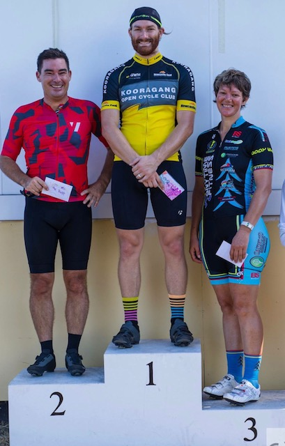 Newcastle  - Ruth Strapp (BiciSport) finished 3rd in C grade at Kooragang Island Interclub on January 21