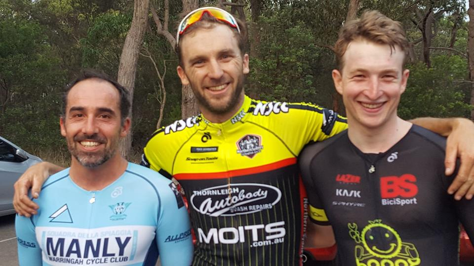 HART Criteriums at St Ives @ 2 February - Conor Tarlington (BiciSport Happy Wheels) took 3rd in A grade