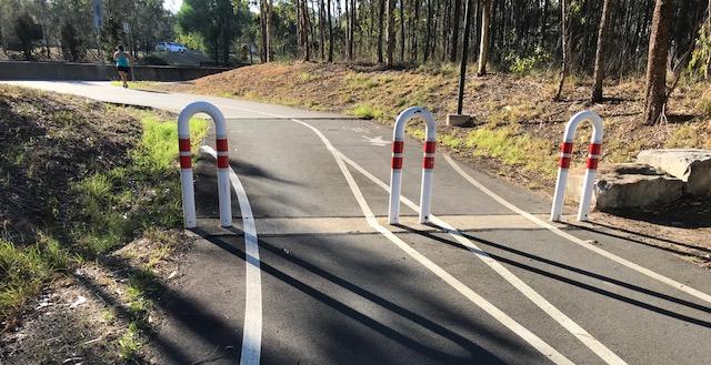 M7 Cyclepath - Northern end at Bella Vista