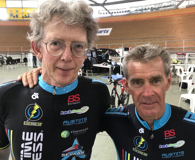 NSW Masters Track 18 - Peter Verhoeven & Mike Lawson