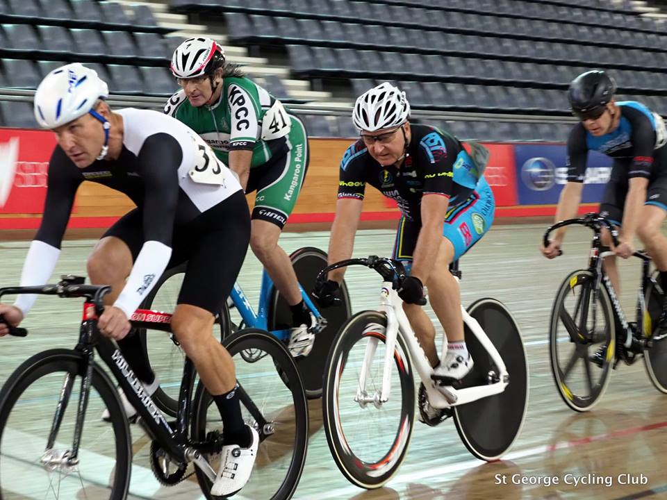 National Masters Track Championships 18 - Graham Cockerton (pictured) teams up with Mike Lawson to contest the National Masters Track Champs this week at the Darebin Velodrome in Melbourne.