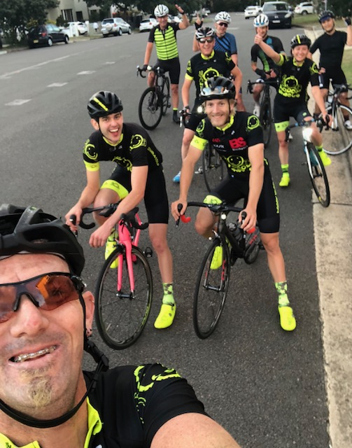 Happy Wheels at Waterloo host the Thursday group ride starting at 6.00am starting from outside the Waterloo shop. All welcome.