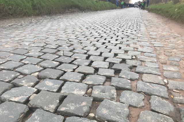 Holleweg cobbles near Oudenaarde