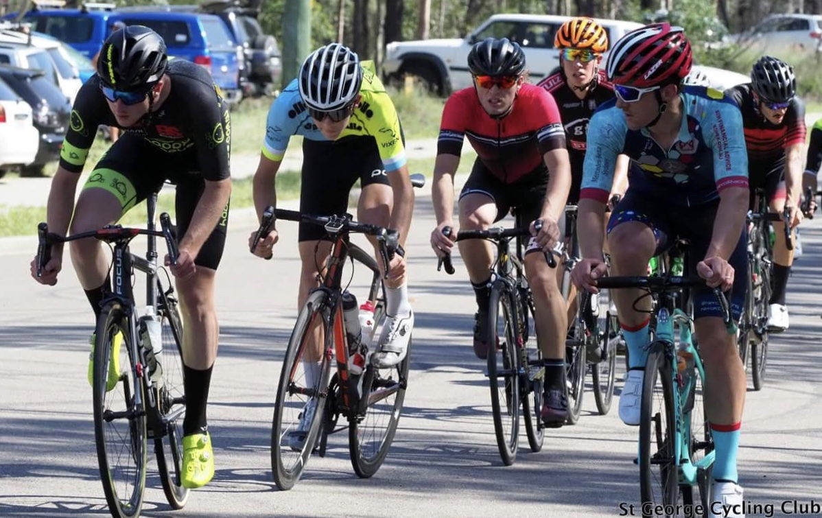 Orica HEZ Kermesse @ 17 Mar - Conor Tarlington (BiciSport Happy Wheels) rode in Division 1 in very hot conditions