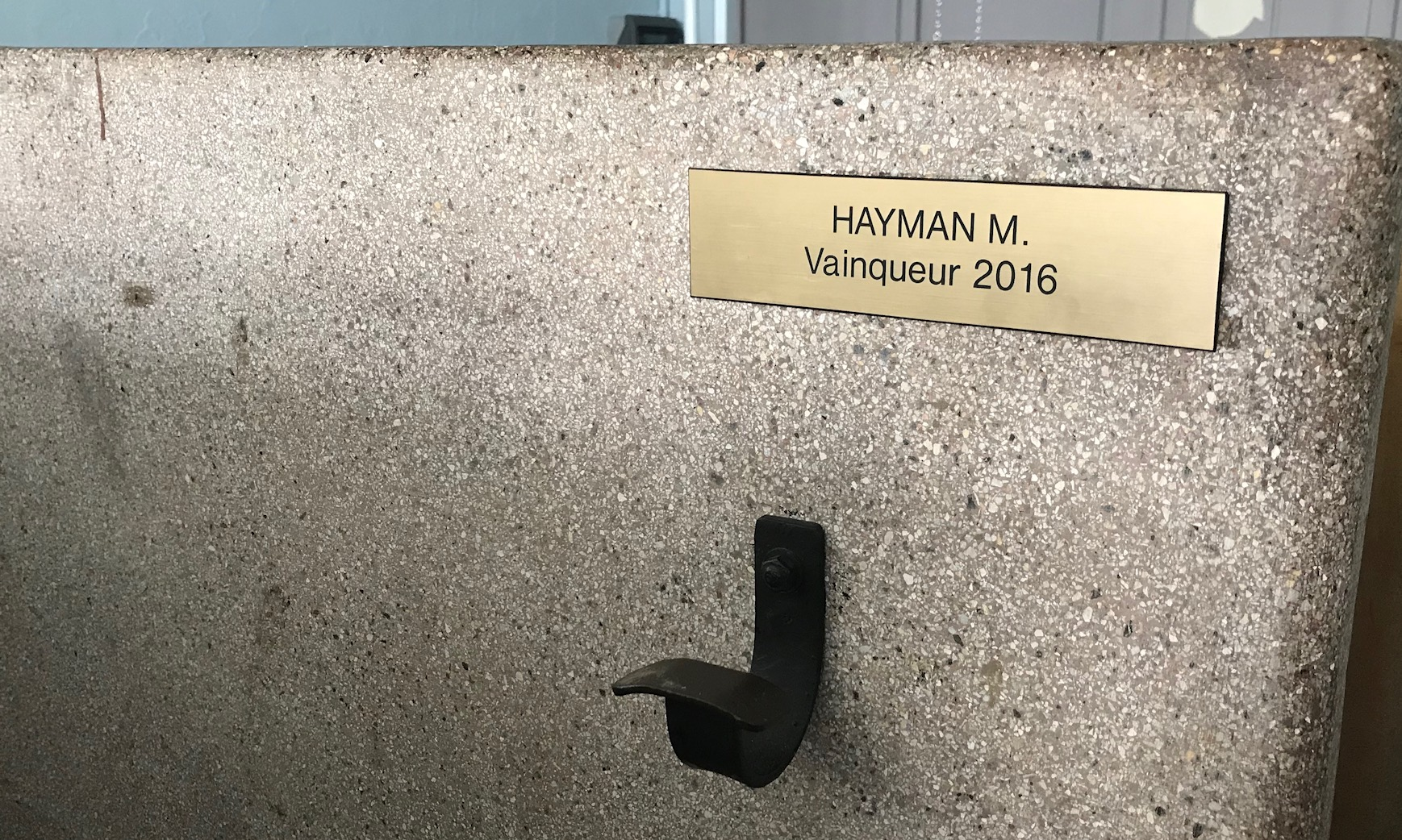 BiciSport in Flanders 18 @ 29 Mar - the famous Roubaix showers where every winner earns a special cubicle bearing their name
