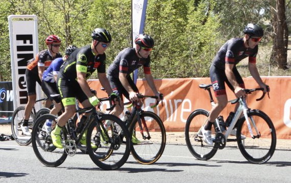 Peter Budd (BiciSport Happy Wheels) at the Cootamundra Open on 5 May finished 29th from 100 finishers