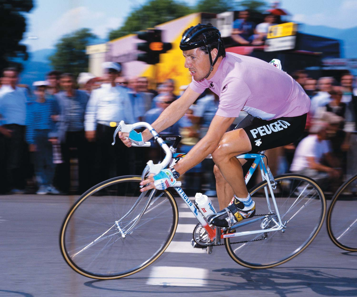 The Giro d'Italia 2018 enters the final week ... Stephen Roche leads the 1987 edition
