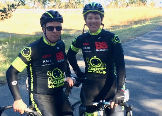Cervelo Masters Super Series # 2 @ Calga @ 24 June - David Browne & Ruth Strapp (BiciSport Happy Wheels)