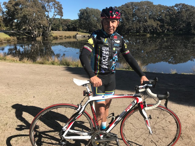 Peter Stupka (BiciSport Master) is a regular on the Thursday Training Ride in Centennial Park starting at 10.30am. Meeting point is at the Spruce Goose Cafe in the middle of the Park. All Welcome.