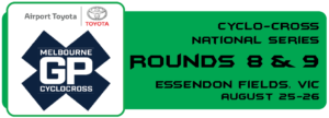 Mike Lawson (BiciSport Master) contests the Essendon Fields round over August 25-26