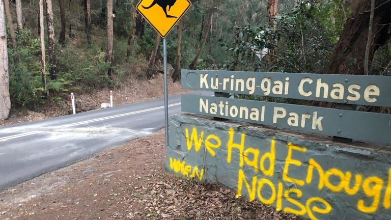 """A speedy recovery to Tony Holland (Harlequin Wheelmen) and the other 4 cyclists needlessly injured last week as they descended down McCarrs Creek Road from the Ku Ring Gai Chase National Park towards Church Point. Its difficult to comprehend the selfish mindset that spawned such an outrageously poor act towards innocent cyclists going about their own business. What drives an idiot to build a makeshift speed bump clearly designed to injure individuals. This isn't the first time cyclists have witnessed poor anti cyclist behaviour along McCarrs Creek Rd - its well known that the """"Cyclist Warning"""" signs are regularly removed or vandalised, tacks and nails regularly litter the McCarrs descent (as late as only last week) and now a highly dangerous speed bump designed to hurt individuals."""