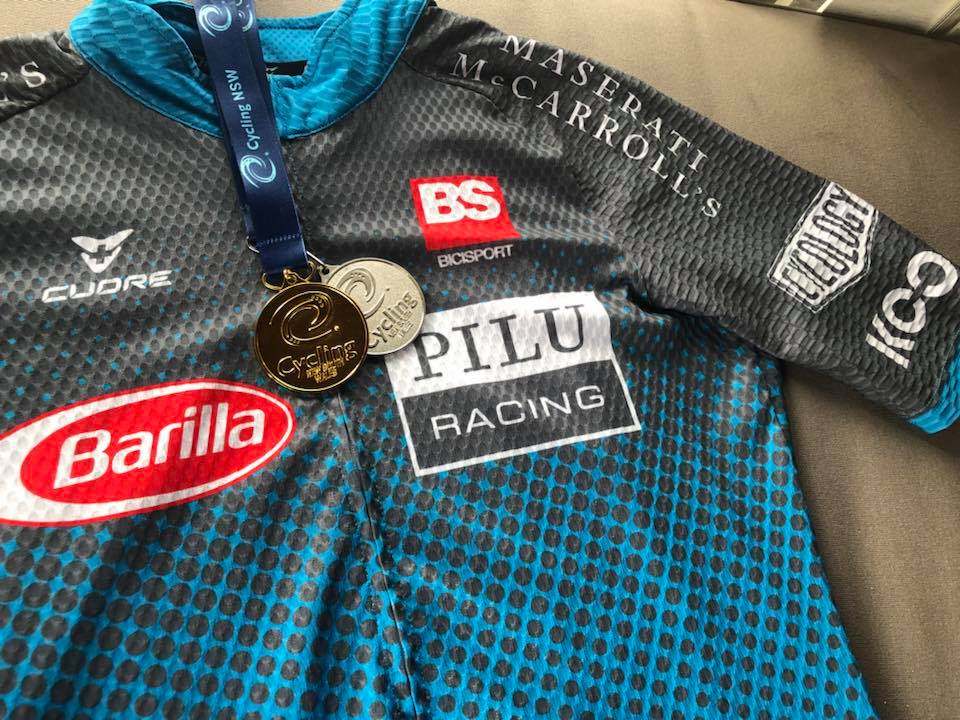 NSW Masters Road Championships - Jordan Reizes took both Gold (Criterium) & Silver (Road Race)