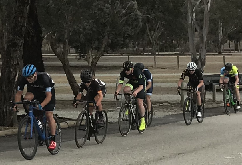 National Capital Tour @ Canberra @ 14 Oct - Conor Tarlington in the Division 1 Criterium